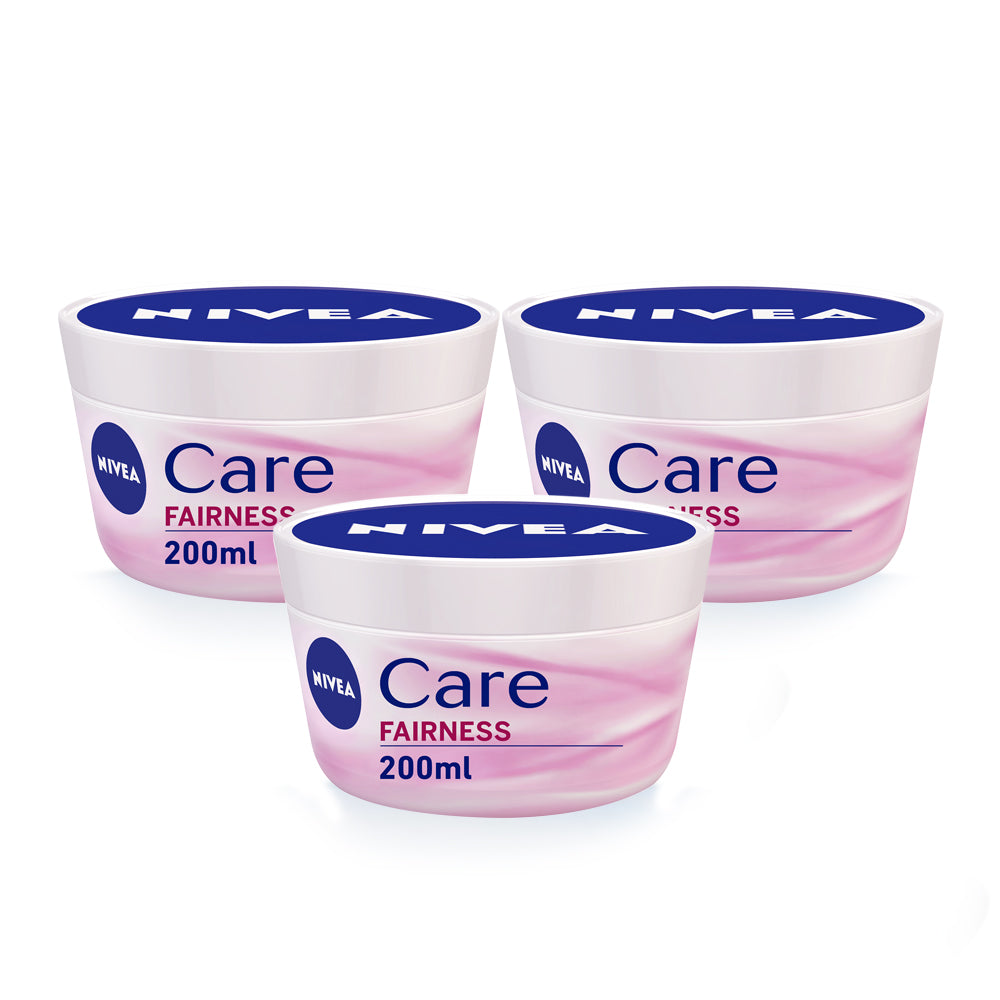 Nivea Care Whitening Cream 200ml - (Pack Of 3) - Billjumla.com