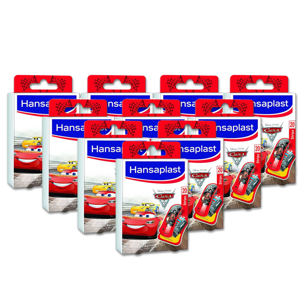Hansaplast Cars Star 20 Pieces - (Pack Of 10)