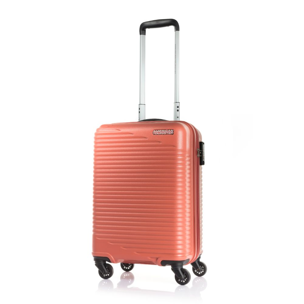 American Tourister Sky Park Hard Shell Red 55 Cm - Billjumla.com