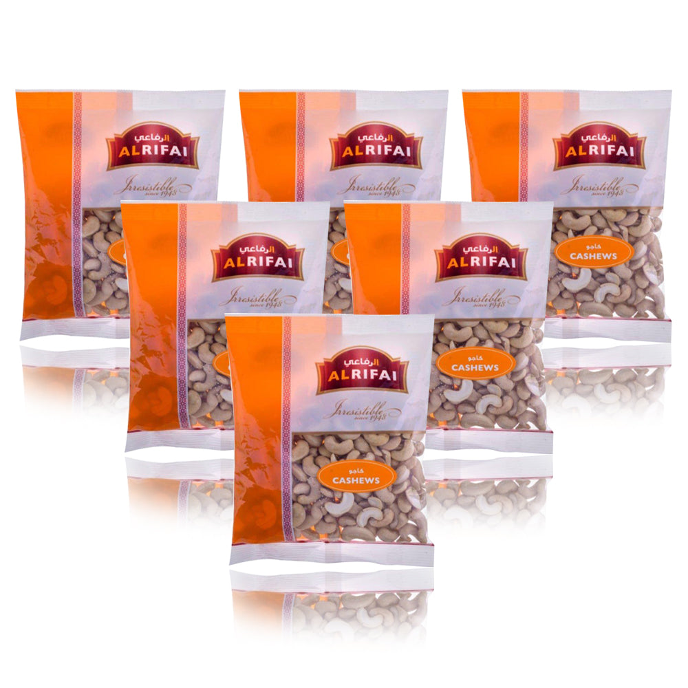 Al Rifai Raw Mixed Nut & Dried Fruit 400g - (Pack Of 6 Pieces)