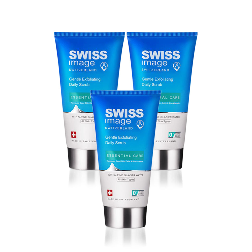Swiss Image Gentle Exfoliating Daily Scrub - 150ml (Pack of 3)