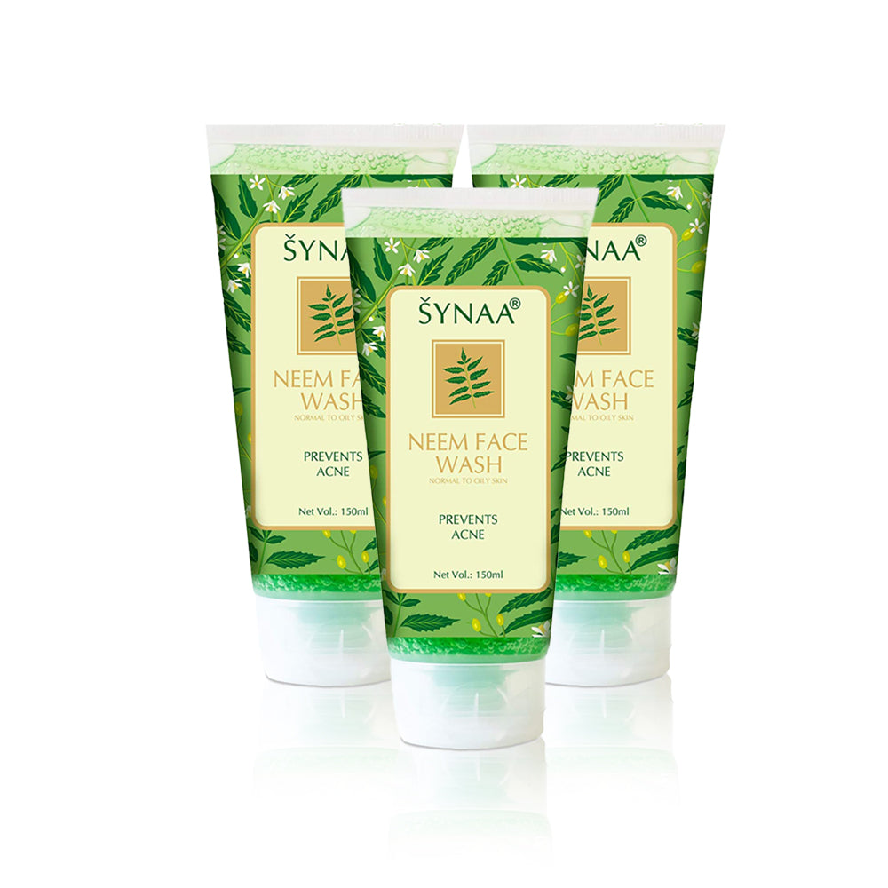 Synaa Neem Facewash 150ml (Pack Of 3 Pieces)