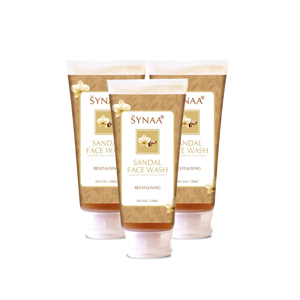 Synaa Sandal Facewash 150ml (Pack Of 3 Pieces)