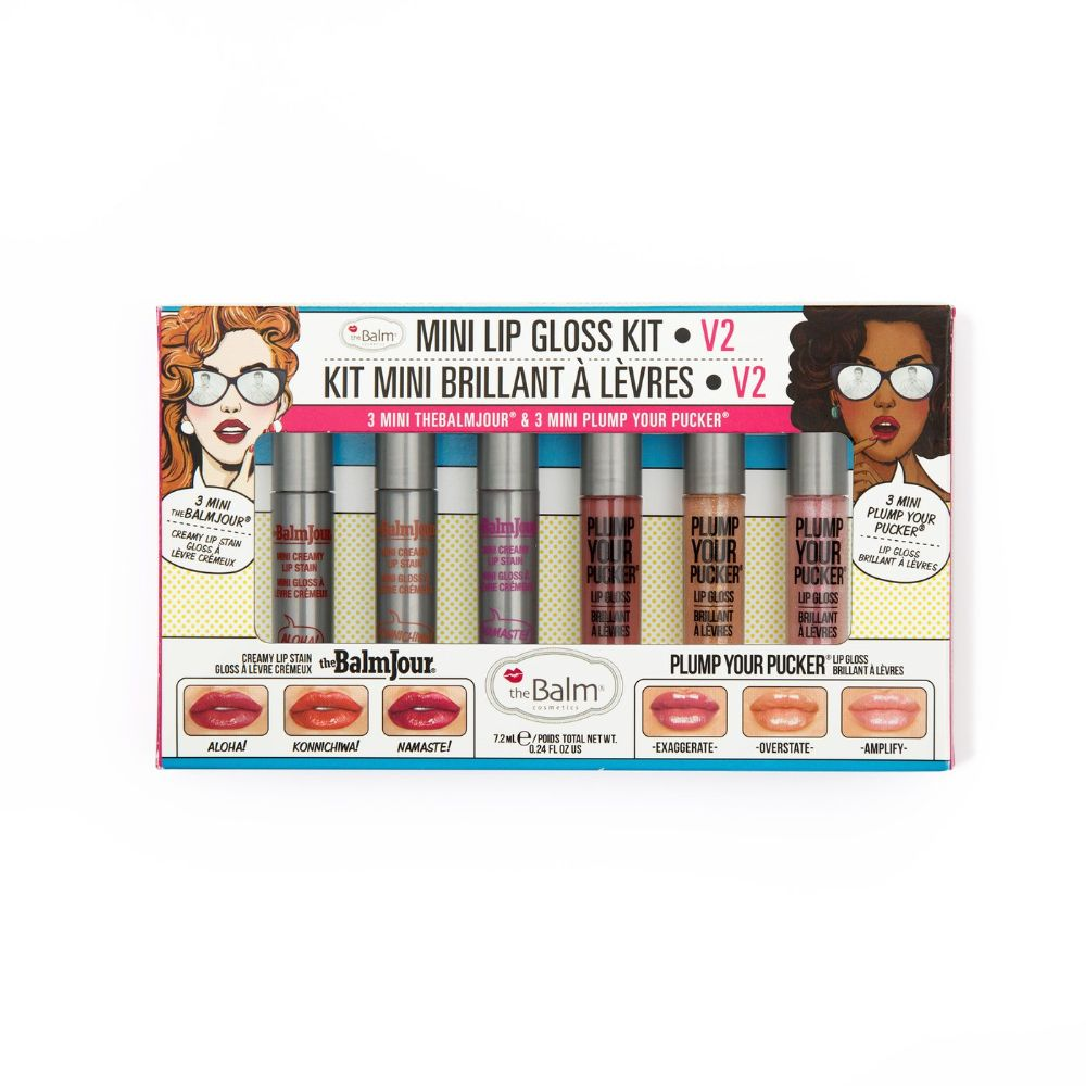 Mini Lip Gloss Kit Vol 2 (1 Pack of 6 Pieces) - Billjumla.com