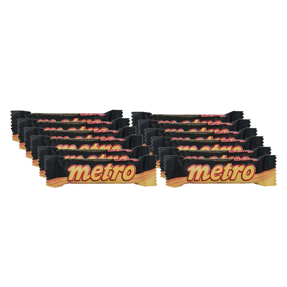 Ulker Metro Chocolate 25g - (6 Packs of 24 Pieces)