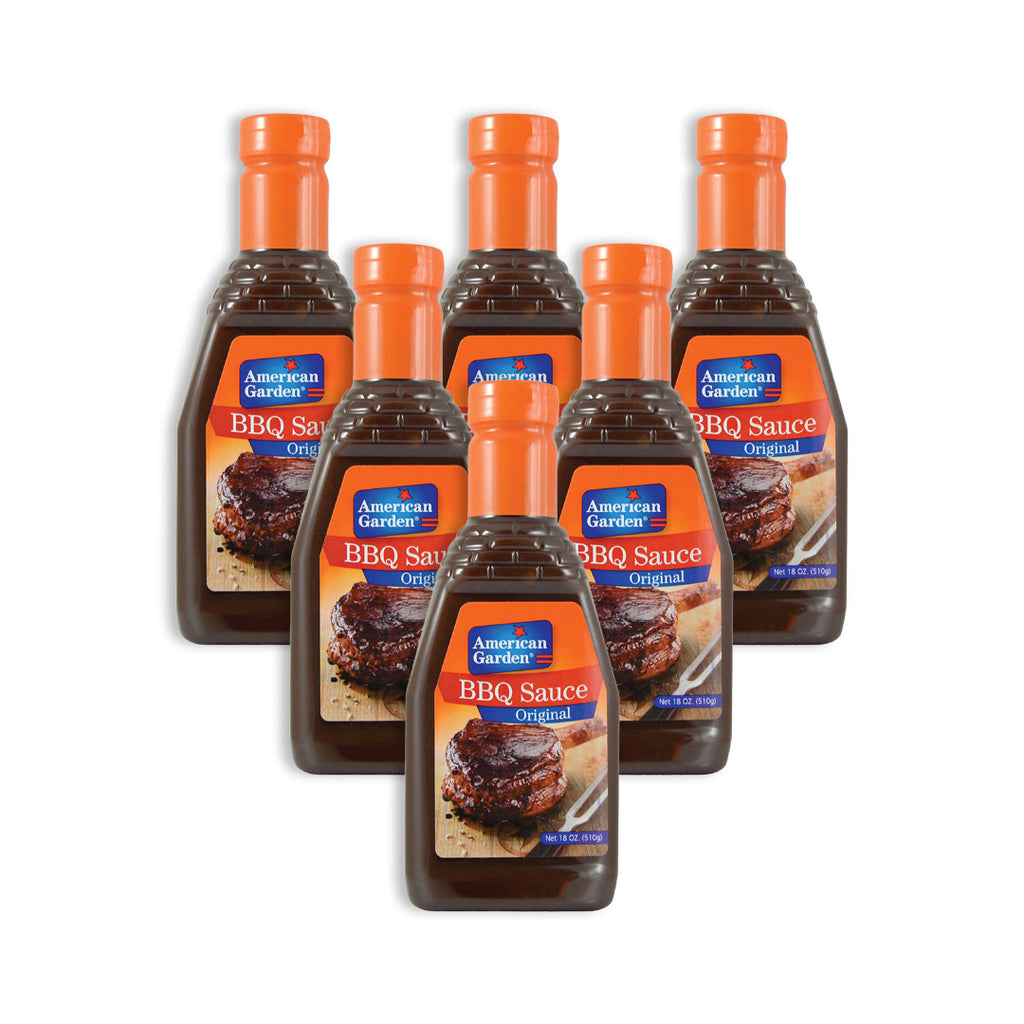 American Garden Bbq Sauce 510 Ml X 12 - Pack Of 12 Pieces