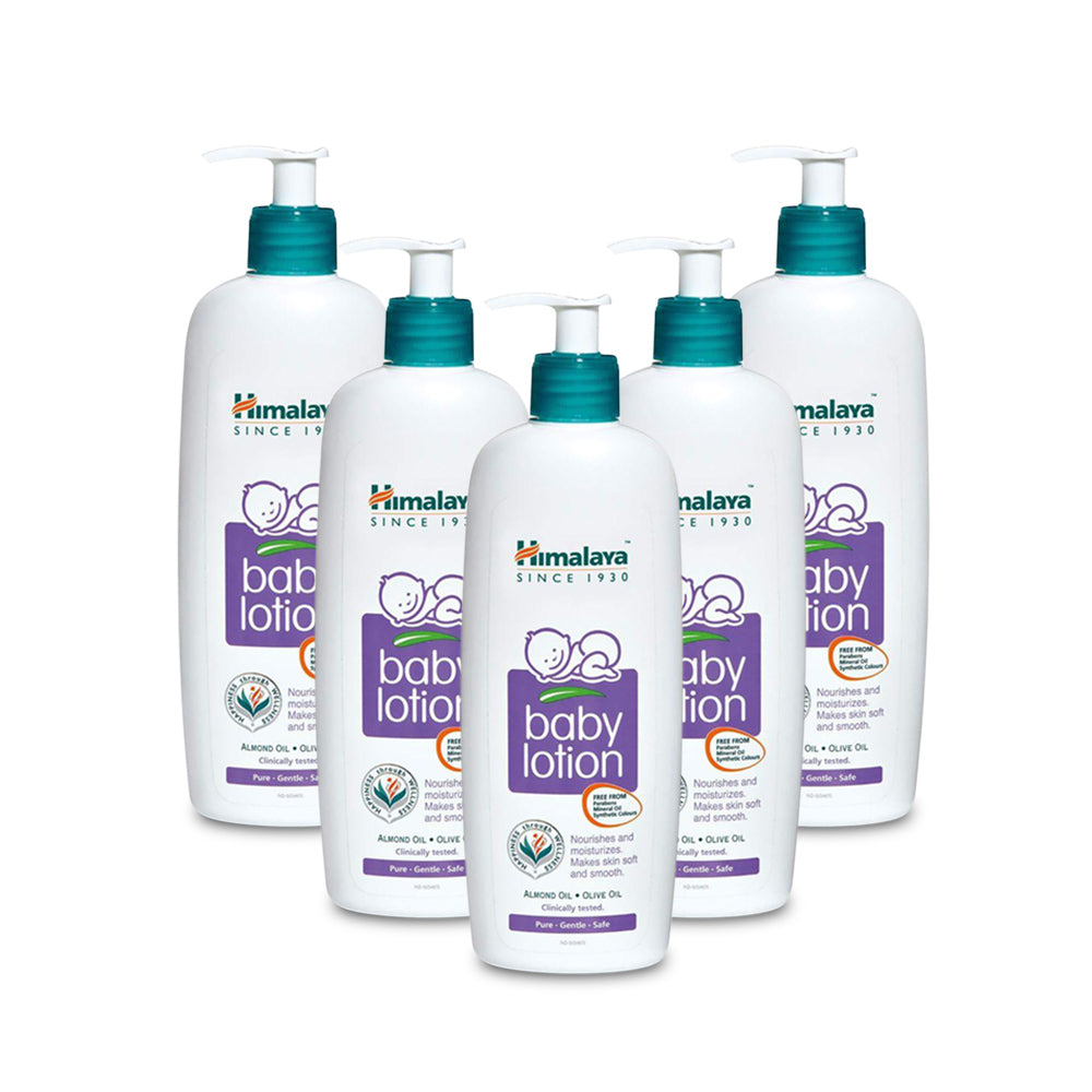 Himalaya Baby Lotion  400ml - (Pack of 5)