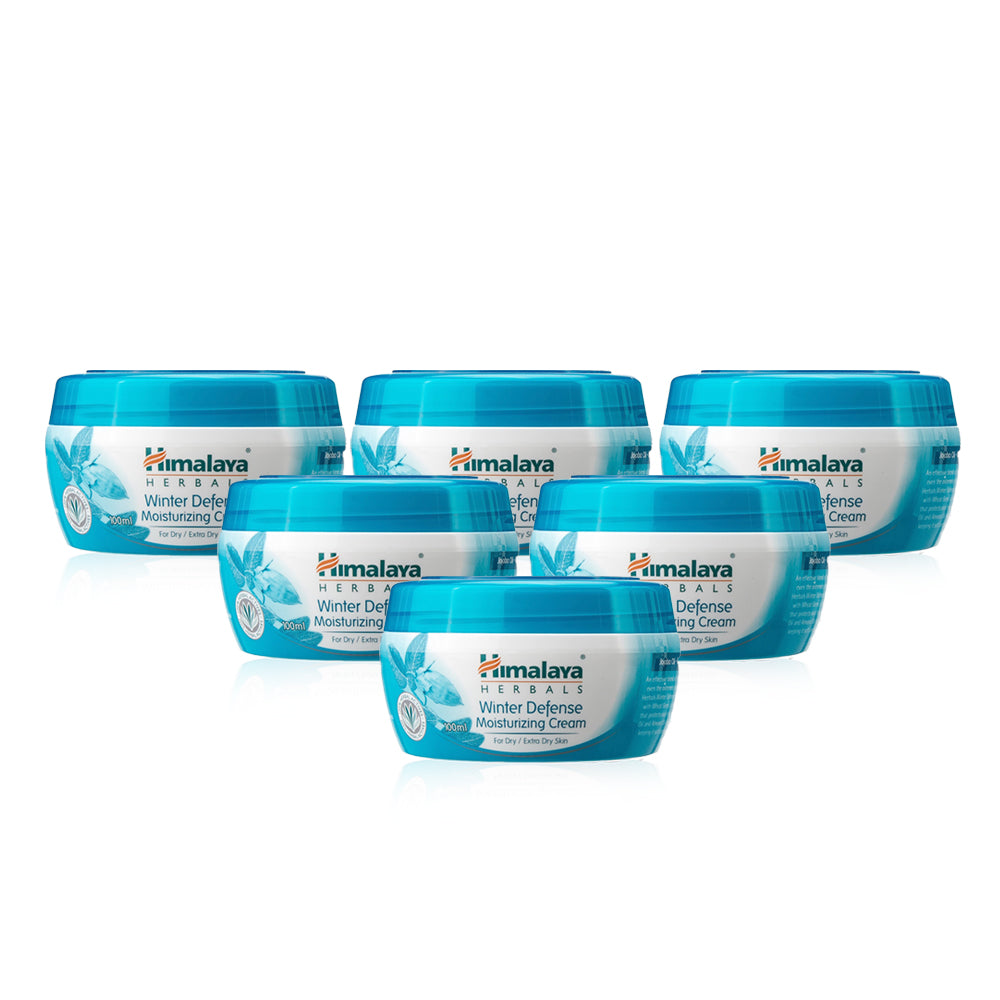 Himalaya Herbals Winter Defense Moisturizing Cream 100ml (Pack of 6)