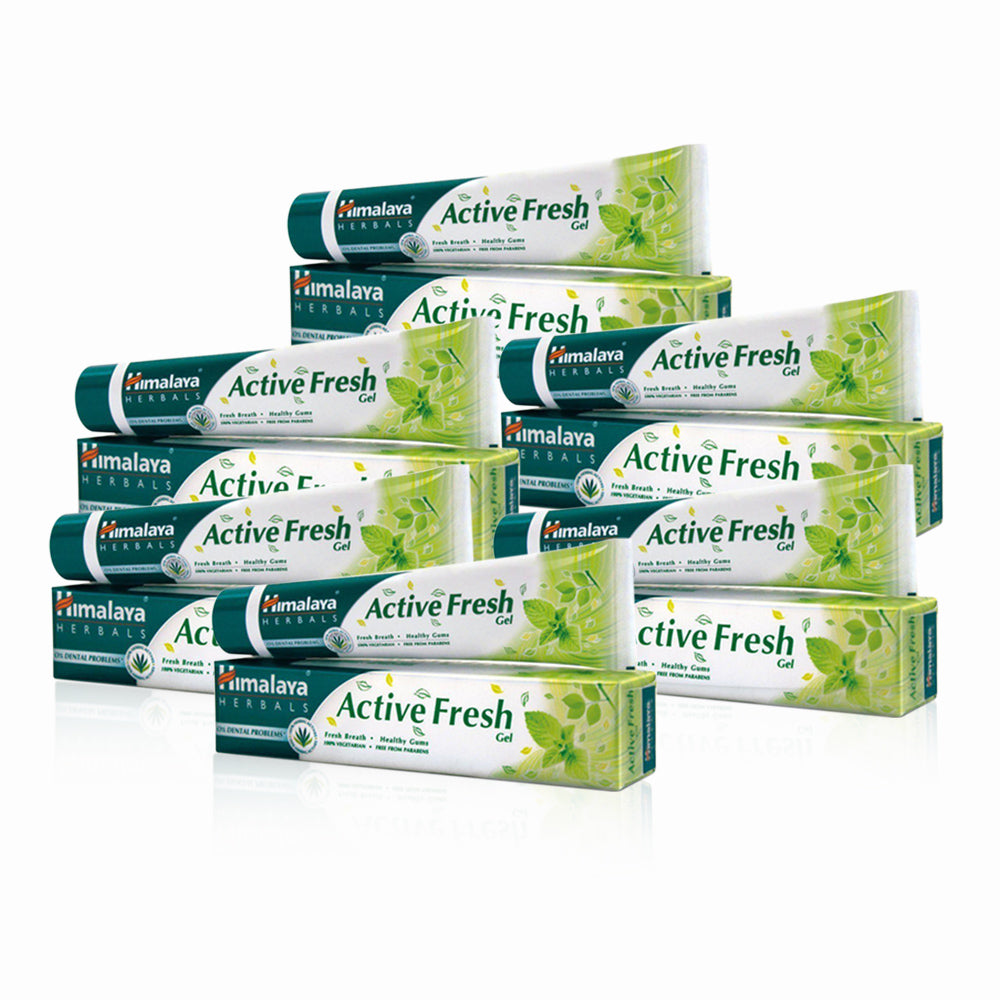 Himalaya Herbal Active Fresh Gel Toothpaste  80Ml (Pack Of 6)