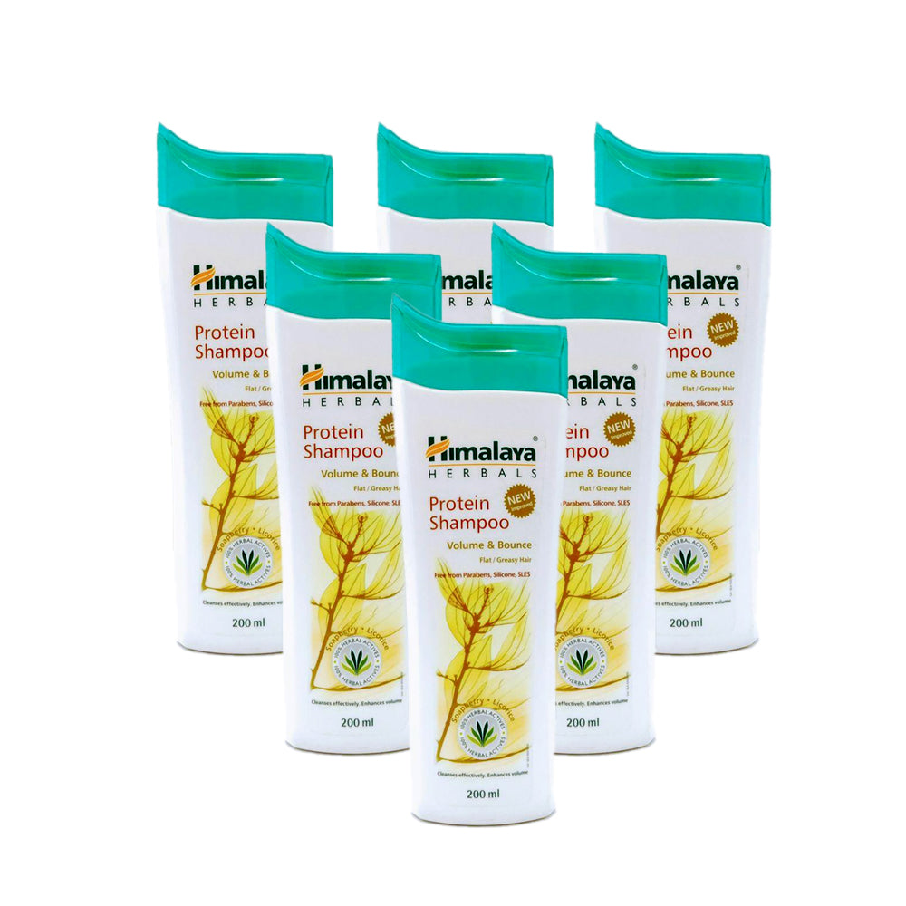 Himalaya Protein Shampoo Volume and Bounce  200ml - (Pack of 6)