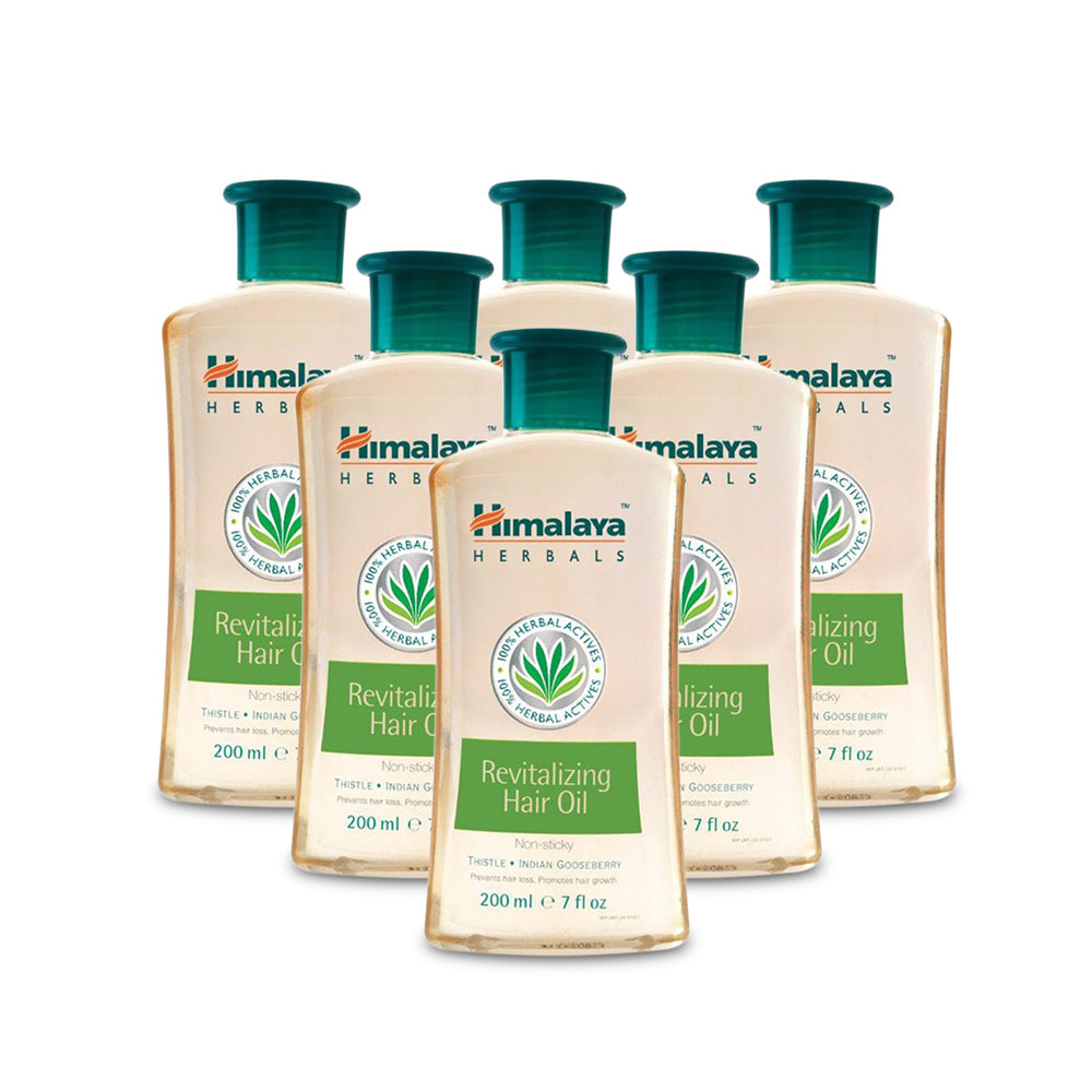 Himalaya Revitalizing Hair Oil  200ml - (Pack of 6)