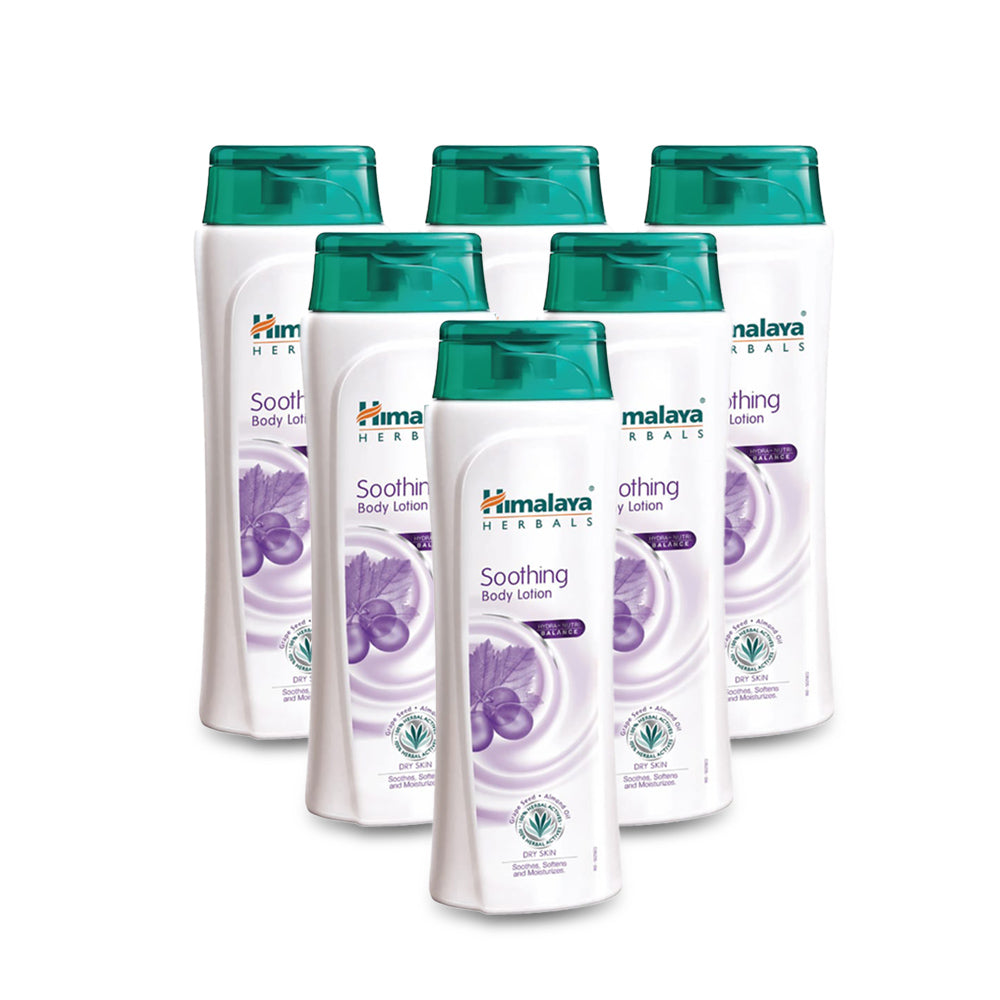 Himalaya Soothing Body Lotion Extra Dry  200ml - (Pack of 6)