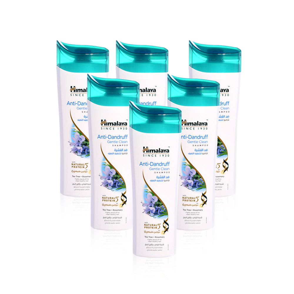 Himalaya Anti-Dandruff Shampoo Gentle Clean  200ml - (Pack of 6)
