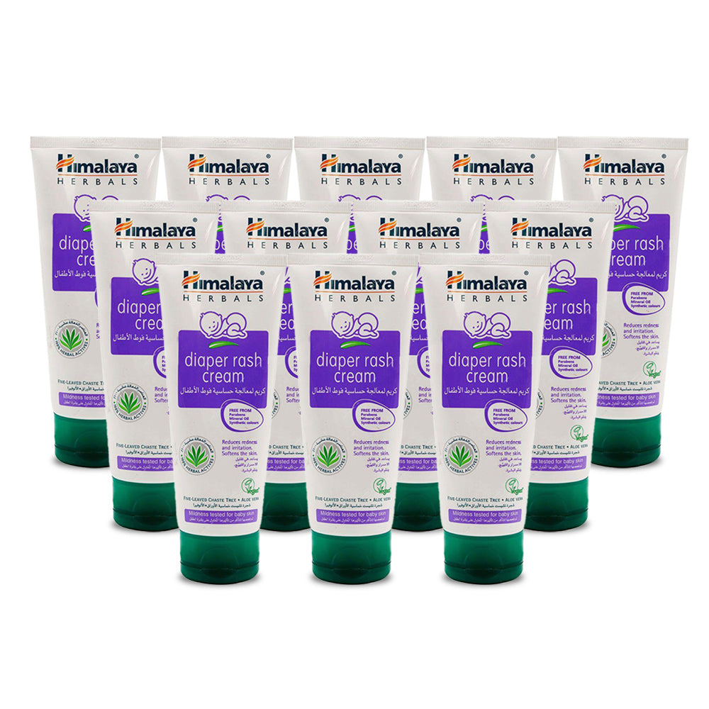 Himalaya Diaper Rash Cream 100ml - (Pack of 12)