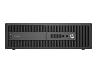 HP ProDesk 600 G2 - SFF - Core i3 6100 3.7 GHz - 4 GB - 1 TB