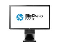 HP EliteDisplay E221c - LED monitor - Full HD (1080p) - 21.5""
