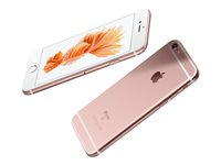 "Apple iPhone 6s Plus - Smartphone - 4G LTE Advanced - 16 GB - CDMA / GSM - 5.5"" - 1920 x 1080 pixels (401 ppi) - Retina HD - 12 MP (5 MP front camera) - rose gold"