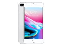 "Apple iPhone 8 Plus - Smartphone - 4G LTE Advanced - 64 GB - GSM - 5.5"" - 1920 x 1080 pixels (401 ppi) - Retina HD - 12 MP (7 MP front camera) - silver"