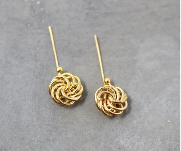 Love Knot Earrings, Earrings for the special someone, gifts for your wife.