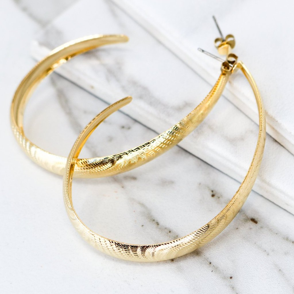 BRIGHT Hoops - Twisted Silver Jewelry