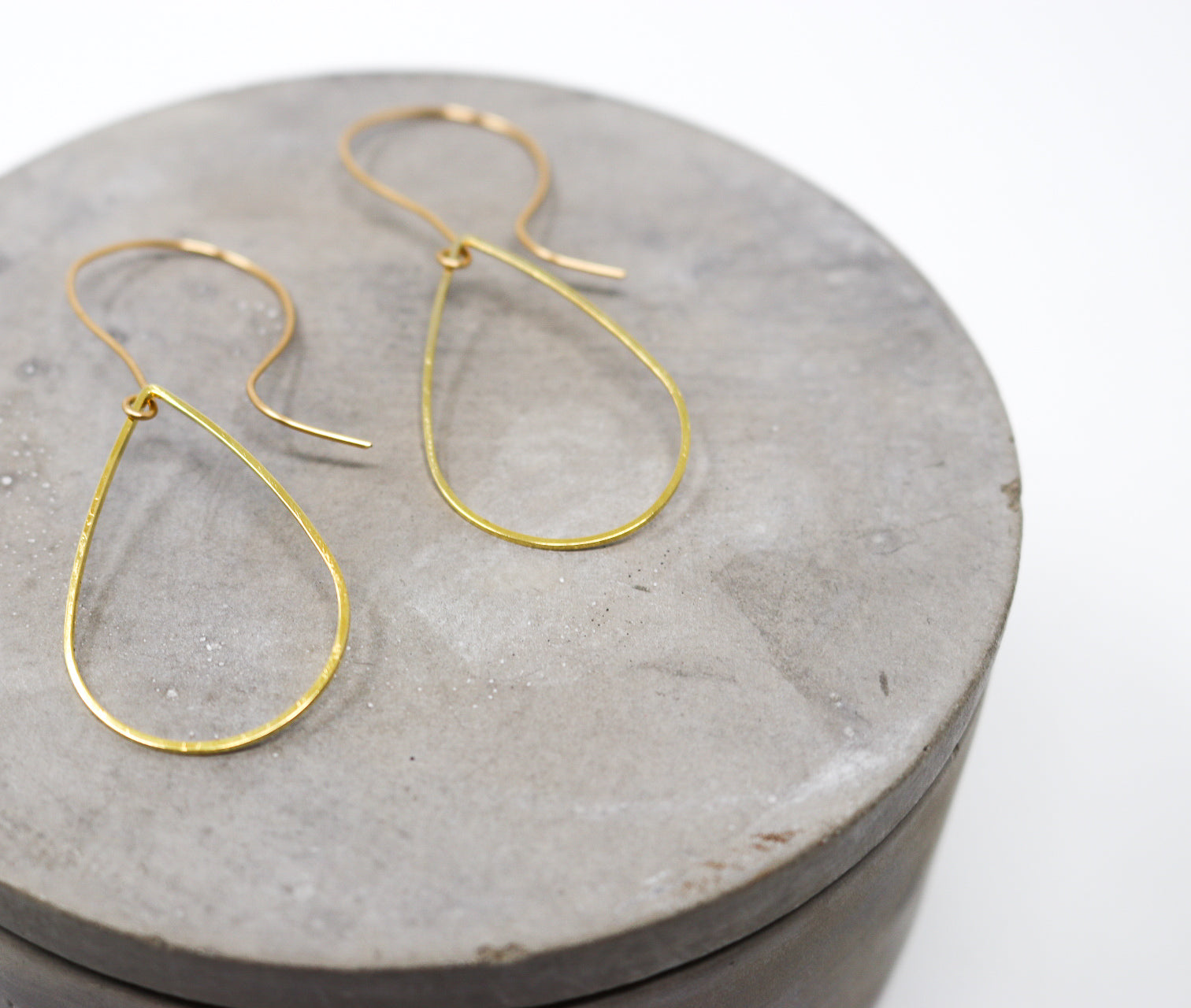 TEAR Earrings - Twisted Silver Jewelry
