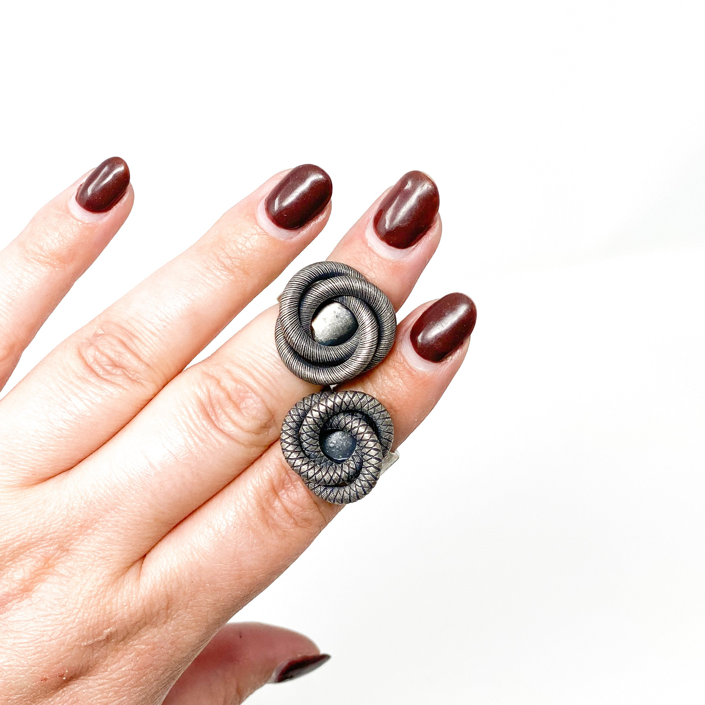 COIL Ring - Twisted Silver Jewelry