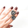 COIL Ring - Twisted Silver