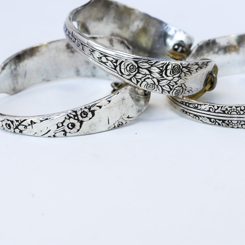 FORGE Cuff - Twisted Silver Jewelry