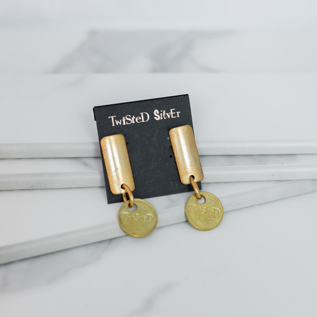 Twisted Silver Jewelry - Pharaoh Earrings