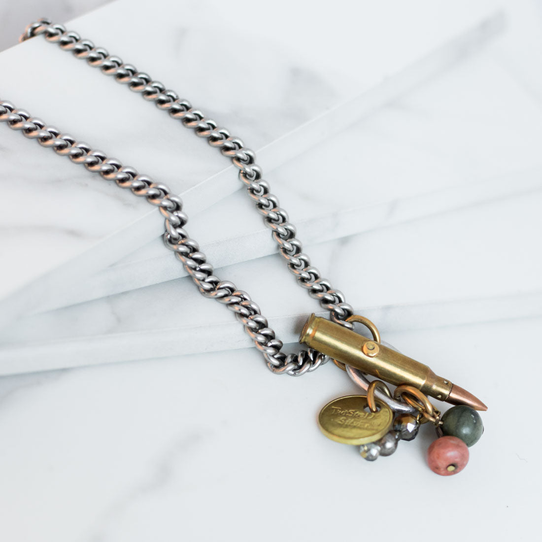 Twisted Silver Jewelry - Bullet Necklace