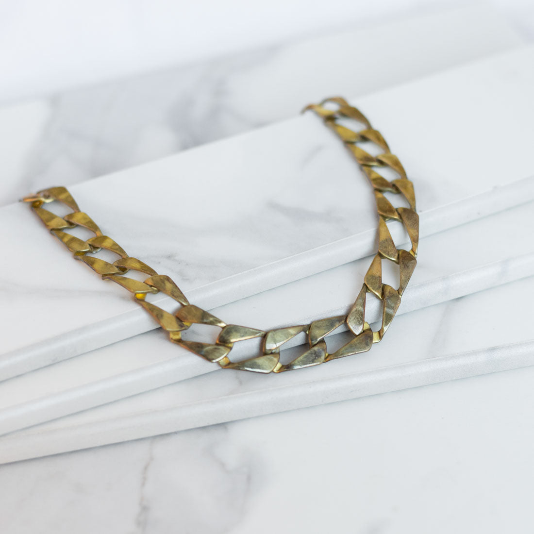 MUSCLE Necklace - Twisted Silver Jewelry