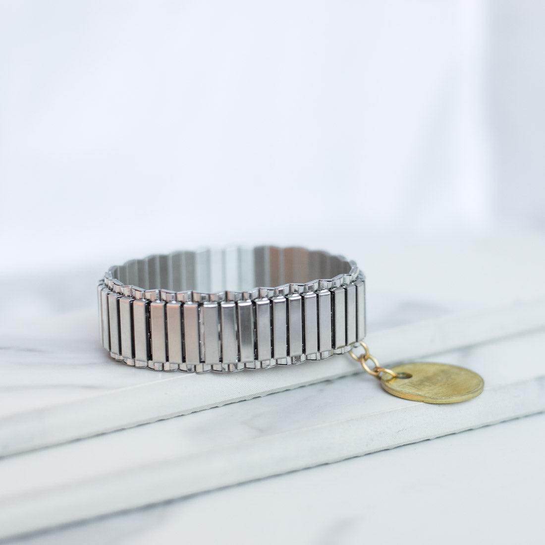 Twisted Silver Jewelry - Watchband Bracelet