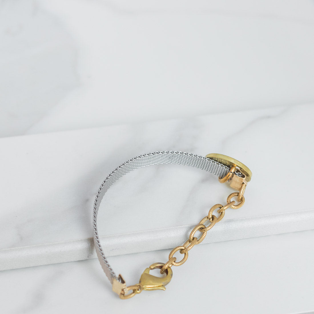 MESH Bracelet - Twisted Silver Jewelry