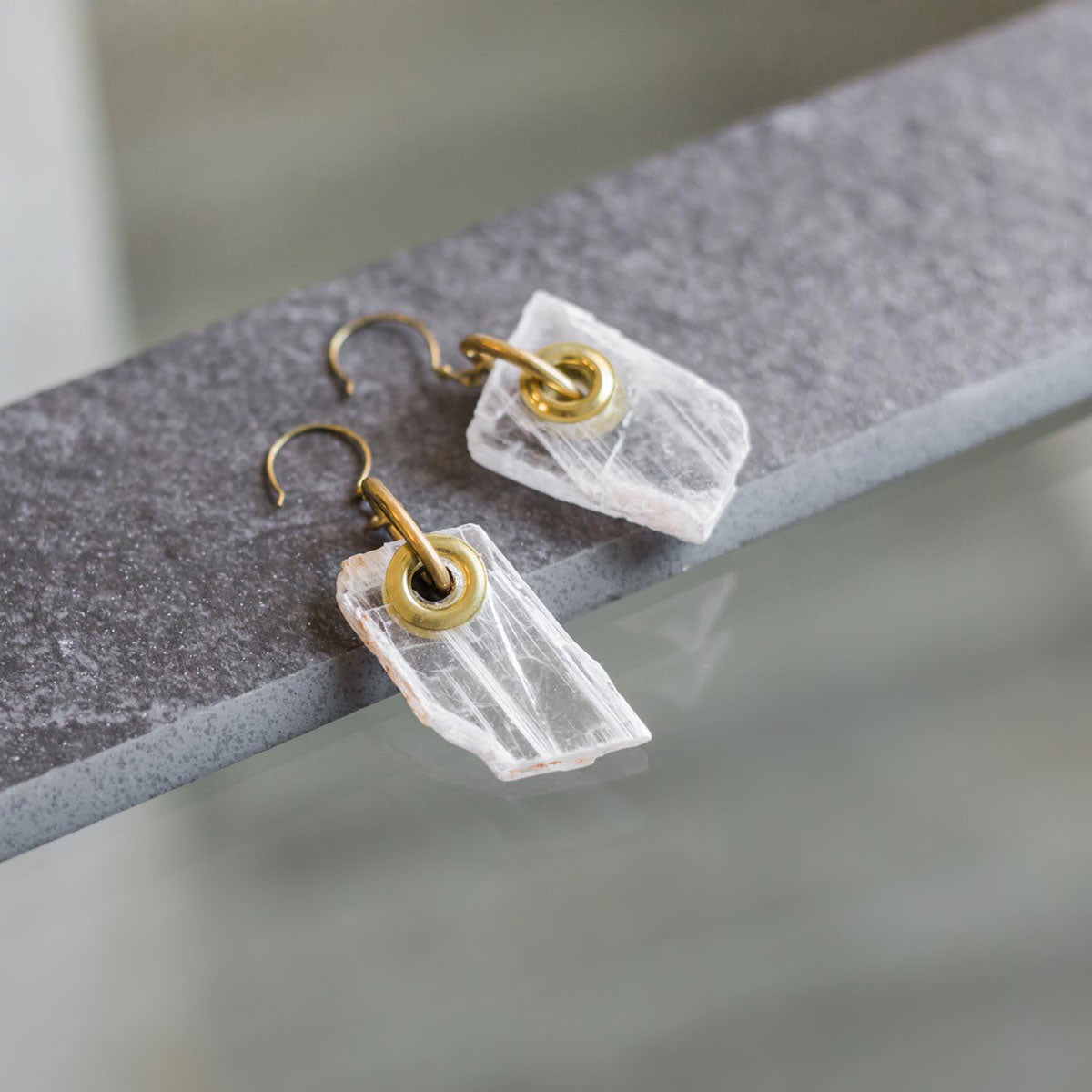CLARITY Earrings - Twisted Silver Jewelry