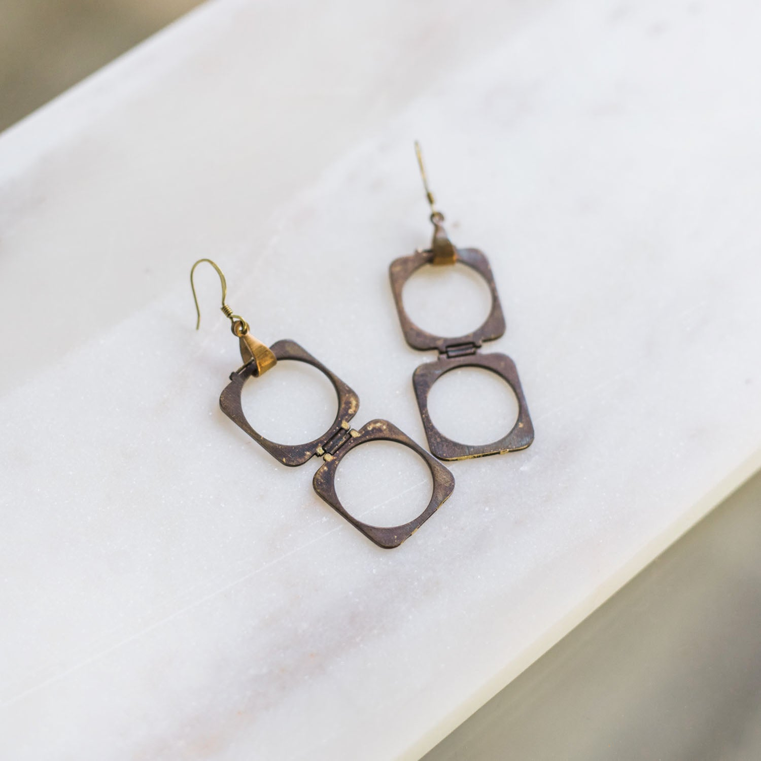 MOD Earrings - Twisted Silver Jewelry