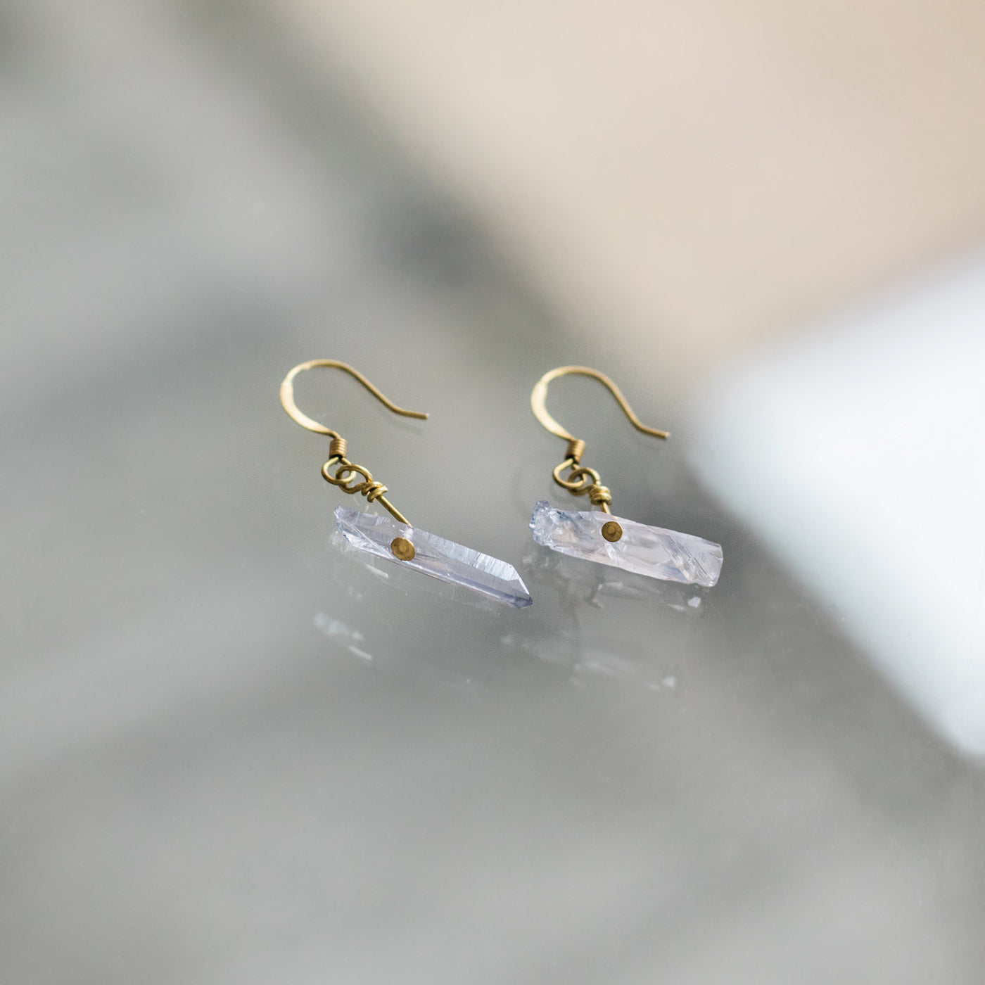 CALM Earrings - Twisted Silver Jewelry