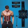 EMS Abdominal Muscle Stimulator Trainer USB Connect Abs Fitness Equipment Training Gear Muscles Electro Stimulator Toner Massage