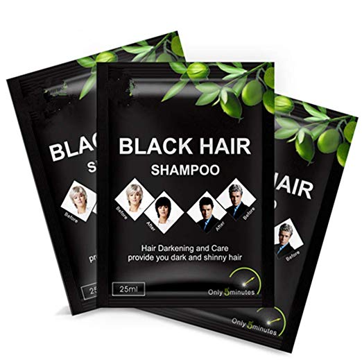 Super White Hair Darkening Shampoo