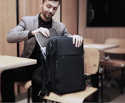 Anti-Thief Laptop Backpack with USB Recharging