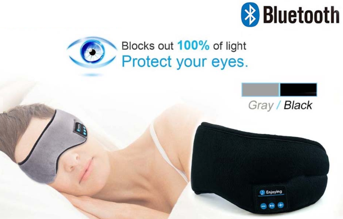 Wireless Bluetooth Earphone Sleep Mask