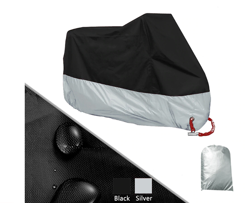 Motorcycle Cover Waterproof & Anti-UV 50