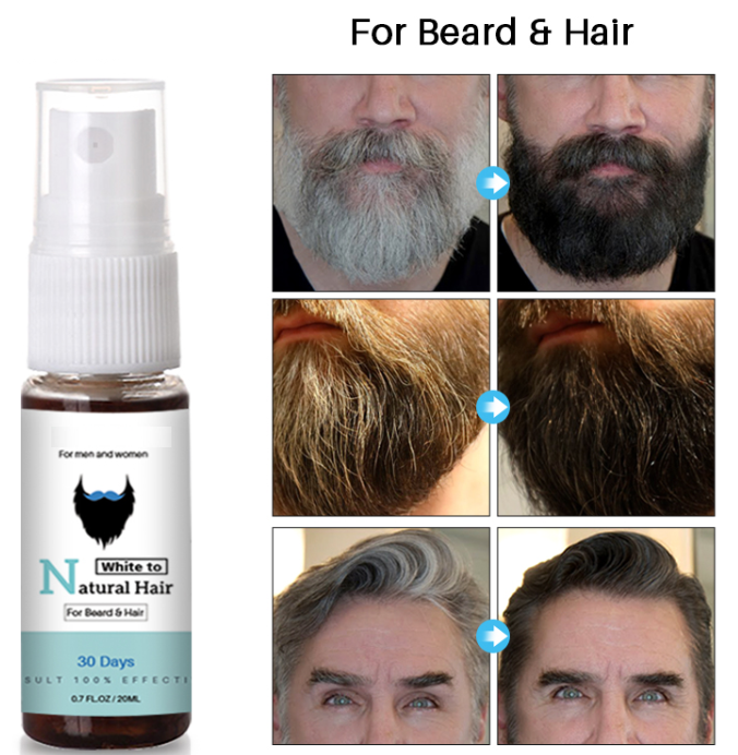 Natural White Hair Treatment