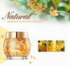 Natural Osmanthus Sleeping Mask Hydrating Oil Control Bright Petals Mask Skin Care