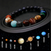 Eight Planets Chakra Solar Bead Bracelet for Men