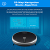 Robot Vacuum Cleaner, Map Navigation, 3000PA Suction, Smart Memory, Map Display on WiFi APP