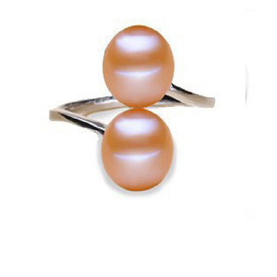 DOUBLE Freshwater Pearls Ring
