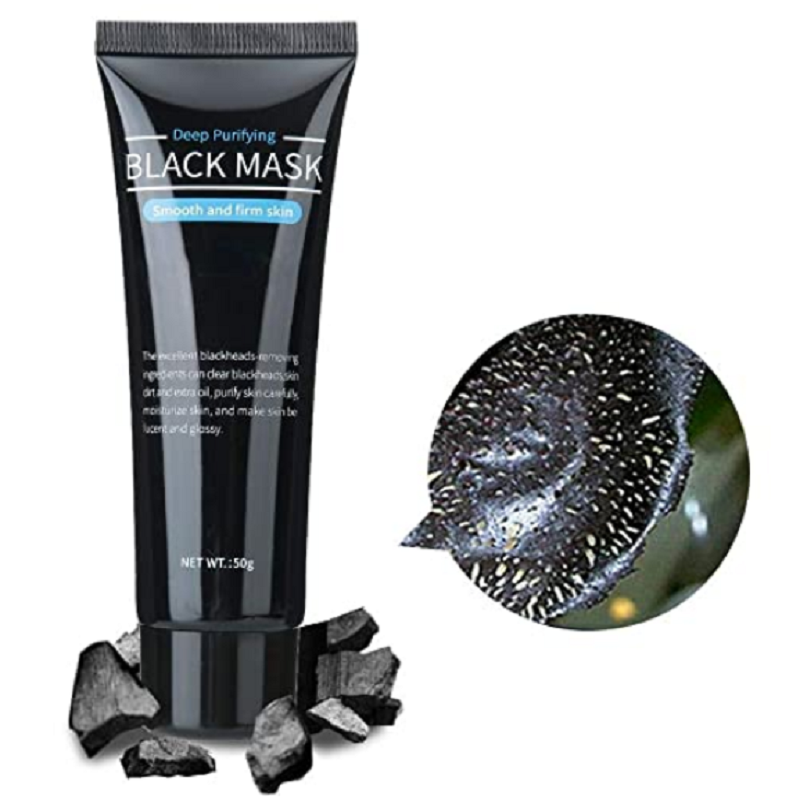Black Mask Facial Mask Nose Blackhead Remover Peeling Peel Whitening Cream