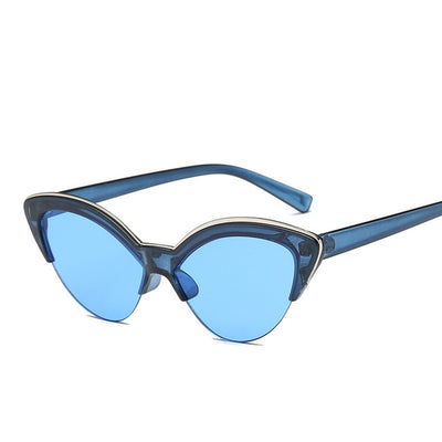 Butterfly Cat Eye Sunglasses Fashion Sunglasses Tinted Color Shade UV400