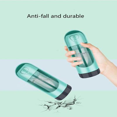 Portable Pet Dog Water Bottle Drinking Bowls For Small Large Dogs Feeding Water Dispenser Cat Activated Carbon Filter Bowl