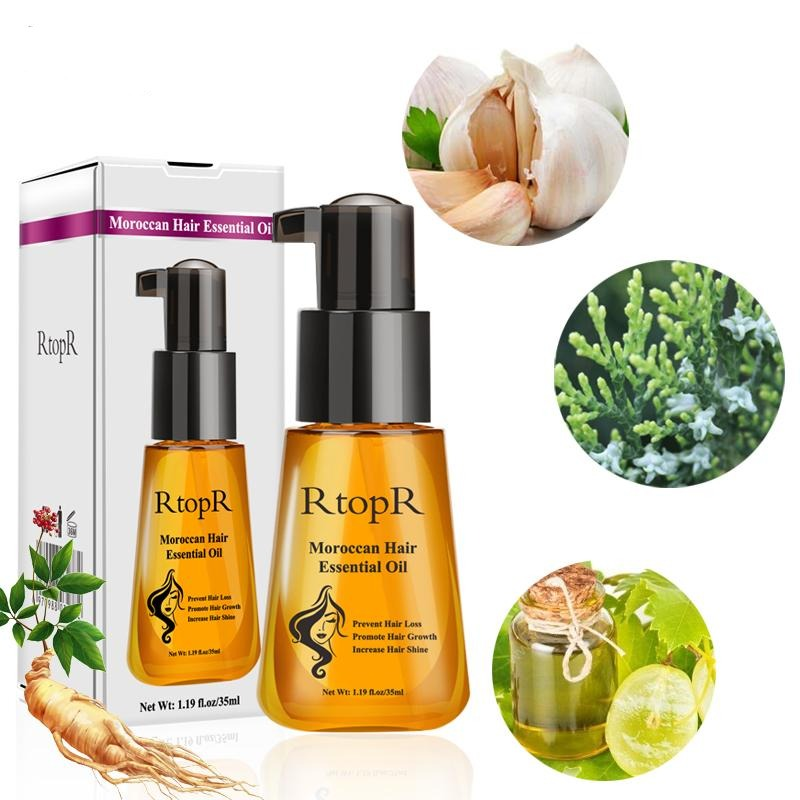 Multi-Functional Morocco Hair Essential Oil Prevent Hair Loss Product Hair Growth for Repair Damaged Hair Care